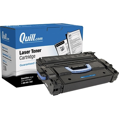 Quill Brand Remanufactured HP 43X Black High Yield Laser Toner Cartridge  (C8543X) (100% Satisfaction Guaranteed)