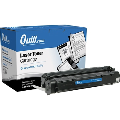 Quill Brand Remanufactured HP 15A Black Standard Laser Toner Cartridge  (C7115A) (Lifetime Warranty)