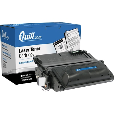 Quill Brand Remanufactured HP 38A (Q1338A) Black Laser Toner Cartridge (100% Satisfaction Guaranteed)