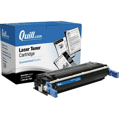 Quill Brand Remanufactured HP 641A Black Standard Laser Toner Cartridge  (C9720A) (100% Satisfaction Guaranteed)