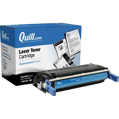 Quill Brand Remanufactured HP 641A (C9721A) Cyan Laser Toner Cartridge (100% Satisfaction Guaranteed)