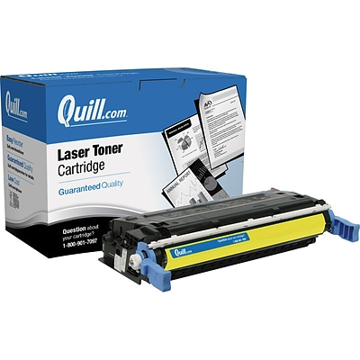 Quill Brand Remanufactured HP 641A (C9722A) Yellow Laser Toner Cartridge (100% Satisfaction Guaranteed)
