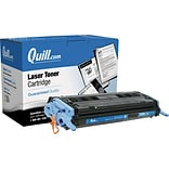 Quill Brand Remanufactured HP 124A (Q6001A) Cyan Laser Toner Cartridge (100% Satisfaction Guaranteed