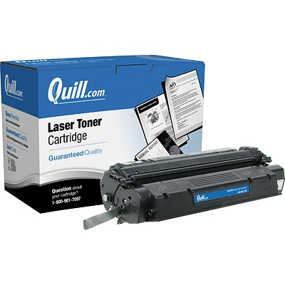 Quill Brand Remanufactured HP 13X Black High Yield Laser Toner Cartridge  (Q2613X) (100% Satisfaction Guaranteed)