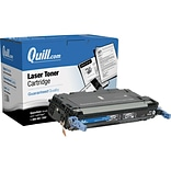 Quill Brand Remanufactured HP 501A (Q6470A) Black Laser Toner Cartridge (100% Satisfaction Guarantee