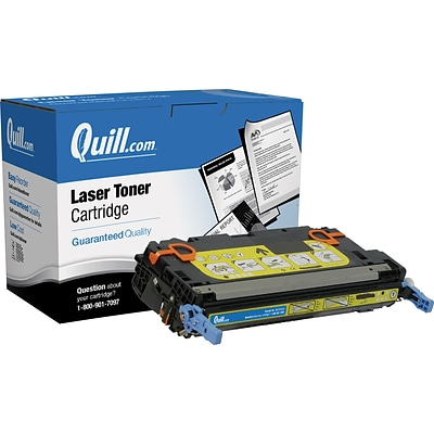 Quill Brand Remanufactured HP 502A (Q6472A) Yellow Laser Toner Cartridge (100% Satisfaction Guaranteed)