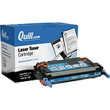 Quill Brand Remanufactured HP 503A Cyan Standard Laser Toner Cartridge  (Q7581A) (100% Satisfaction