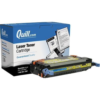 Quill Brand Remanufactured HP 503A (Q7582A) Yellow Laser Toner Cartridge (100% Satisfaction Guaranteed)