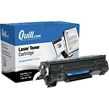 Quill Brand Remanufactured HP 35A (CB435A) Black Laser Toner Cartridge (100% Satisfaction Guaranteed