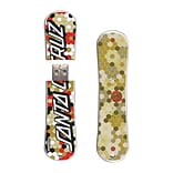 EP Memory® Snowboard Flash Drive, 16GB, Santa Cruz Hexagon