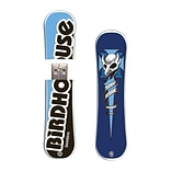 EP Memory® Snowboard Flash Drive, 16GB, Tony Hawk Blue Crest