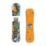 EP Memory® Snowboard Flash Drive, 8GB, Santa Cruz Trailblazer