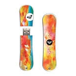 EP Memory® Snowboard Flash Drive, 16GB, Roxy Crimson