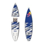 EP Memory® Surfboard Flash Drive, 16GB, Red Bull Blue Camo