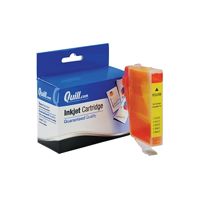 Quill Brand Compatible Ink for Canon® BJC-600; BCI-3eY, Yellow (100% Satisfaction Guaranteed)