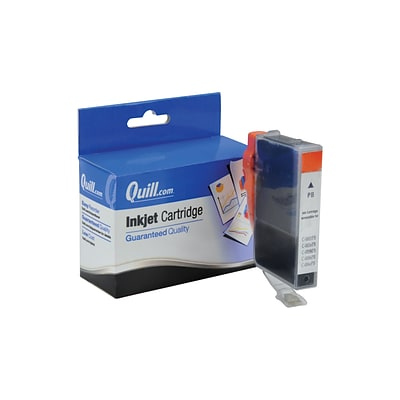 Quill Brand Compatible Ink for Canon® BJC-600; BCI-3ePBK, Photo Black (100% Satisfaction Guaranteed)