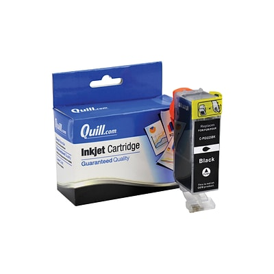 Quill Brand Compatible Canon® PGI-225BK Black Ink Cartridge (100% Satisfaction Guaranteed)