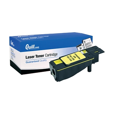 Quill Brand Compatible Dell™ WM2JC (331-0779) Yellow Laser Toner Cartridge (100% Satisfaction Guaranteed)
