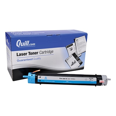 Quill Brand Compatible Dell™ GG579 (310-5810) Cyan Laser Toner Cartridge (100% Satisfaction Guaranteed)