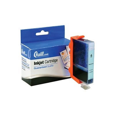 Quill Brand Compatible Ink for Canon® BJC-600; BCI-3ePC, Photo Cyan (100% Satisfaction Guaranteed)
