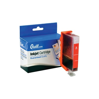 Quill Brand Compatible Ink for Canon® i9900/9950; BCI-6R, Red (100% Satisfaction Guaranteed)