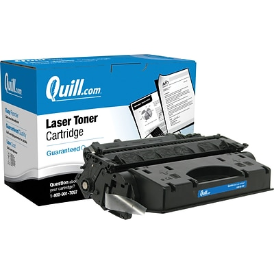 Quill Brand® Remanufactured HP 05X Black Extra High Yield Laser Toner Cartridge  (CE505X) (Lifetime Warranty)