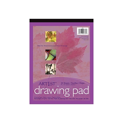 Art1st® Drawing Paper Pad, 12x18, 24 sheets