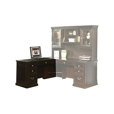 Martin Furniture Fulton Collection, Left-Hand Facing Keyboard Return for 68 Executive Desk