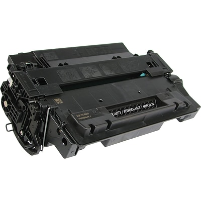 Quill Brand Remanufactured HP 55X Black Extra High Yield Laser Toner Cartridge  (CE255X) (100% Satisfaction Guaranteed)