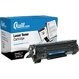Quill Brand Remanufactured HP 35A (CB435A) Black Extra High Yield Laser Toner Cartridge (100% Satisf
