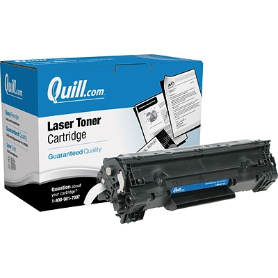 Quill Brand® Remanufactured HP 35X Black Extra High Yield Laser Toner Cartridge  (CB435A) (Lifetime Warranty)