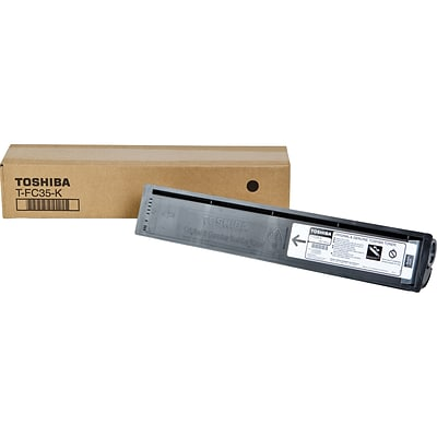 Toshiba® TFC35K Black Laser Toner Cartridge