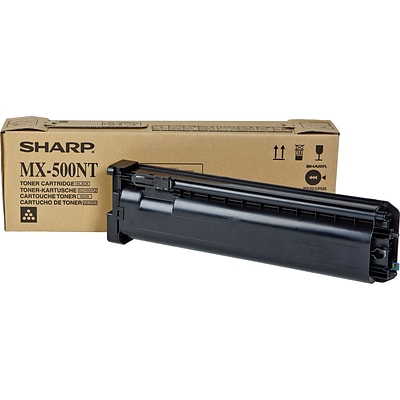 Sharp® MX500NT Black Laser Toner Cartridge