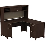 Enterprise 60W L-Desk with Hutch