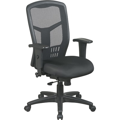 Office Star™ ProGrid® Ergonomic Managers Chair; High-Back, Synchro-Tilt