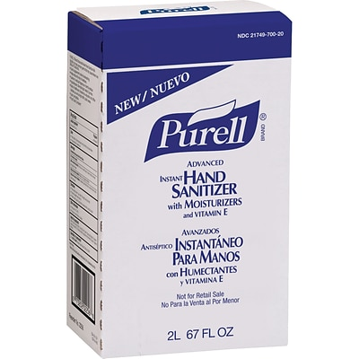 Purell® Advanced Instant Hand Sanitizer; 2-Liter Refill