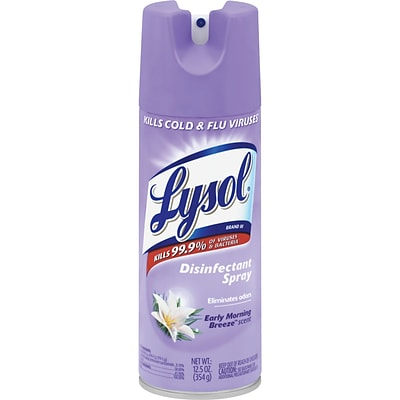 Lysol® Disinfectant Spray, Early Morning Breeze™, 19 Oz, 12/Cs