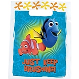 SmileMakers® Disney Nemo Keep Brushing Bags; 100 PCS, 7-1/2x9
