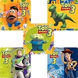 "SmileMakers® Toy Story 3 Stickers; 2-1/2""H x 2-1/2""W, 100/Box"