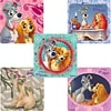 "SmileMakers® Lady & The Tramp Stickers; 2-1/2""H x 2-1/2""W, 100/Roll"
