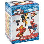 Spidey, Wolverine, Iron Man Adhesive Bandages; 100 PCS