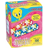 Tweety® Red & Blue Adhesive Bandages; 100 PCS