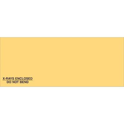 "Medical Arts Press(r) Non Imprinted X Ray Mailing Envelopes; 6 1/2"" X 13 3/4"", Grip, Style A, 250/box"
