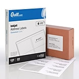 Quill® 3-1/3x4 White Labels; 1500/Box