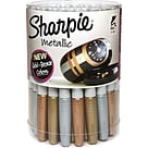 Sharpie® Metallic Assorted Canister; 36/Pk