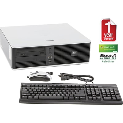 HP DC5750 Refurbished Desktop PC; AMD Athlon Processor, 2GB, Windows 7 Home Premium
