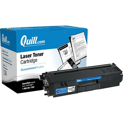 Quill Brand Remanufactured Brother® TN315 Cyan Toner Cartridge (100% Satisfaction Guaranteed)