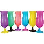 Plastic Transparent Hurricane Cups