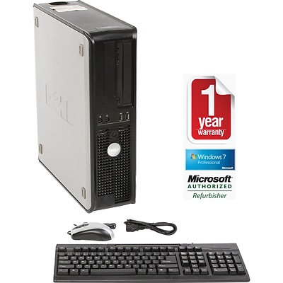 Dell™ 755 Refurbished Desktop C2D 2.66 Form Factor PC