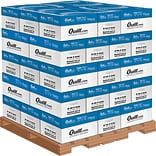 Quill Brand® Copy Paper by the Pallet; 8-1/2 x 11, Letter Size, Truckload